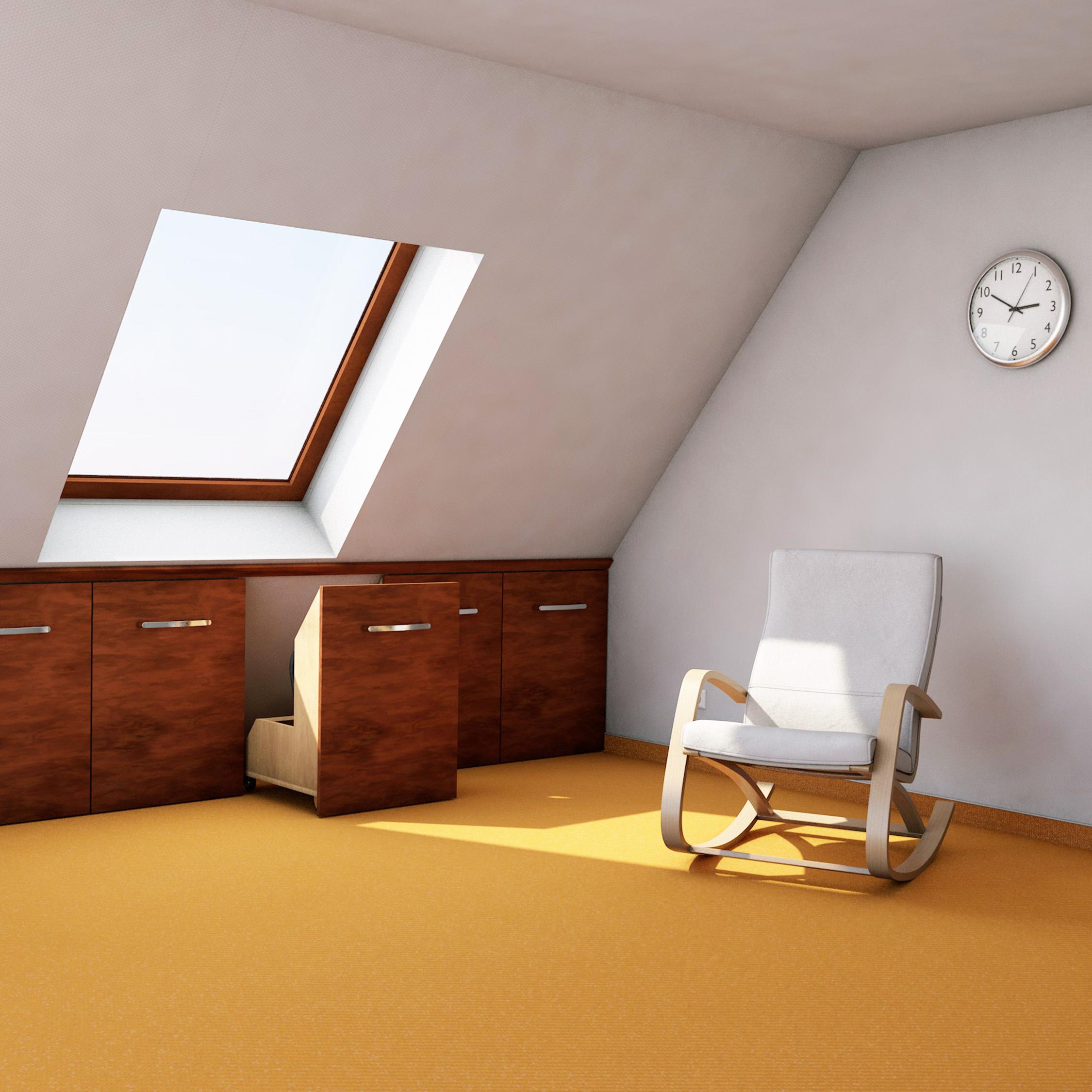 Dachschrägen optimal nutzen mit individuellen Möbeln