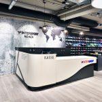 Tresen für den Kassenbereich Ladenbauprojekt Intersport made in Sachsen