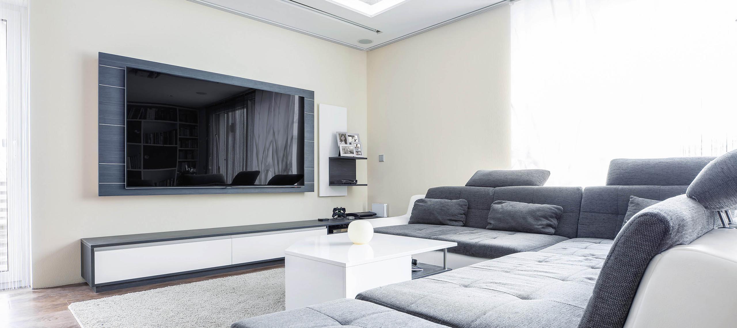Wohnzimmer Möbel und TV Panel